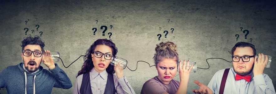 Problématiques en communication